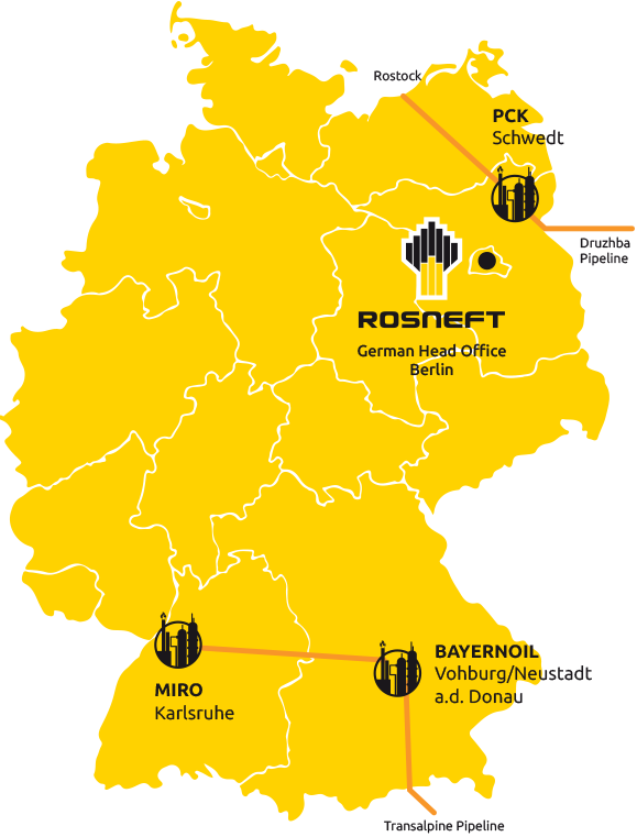 German Refineries of Rosneft